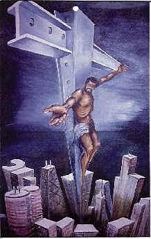 Jesus-black-cross
