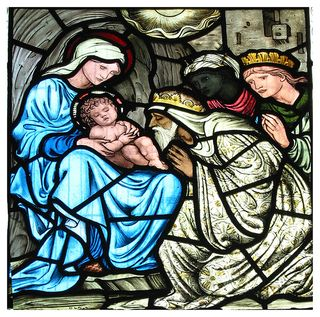 Nativity-window-at-Middleton-Cheney