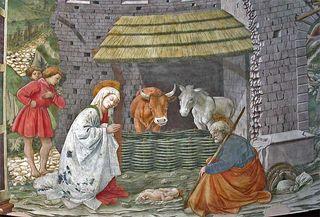 Fra lippi nativity