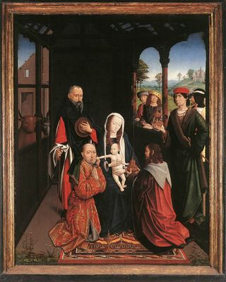 Flemish unknown adoration