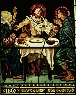 William_Morris_Troutbeck_Jesus_at_Emmaus