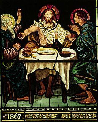 William_Morris_Troutbeck_Jesus_at_Emmaus