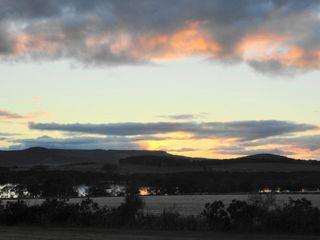 Sunset sken
