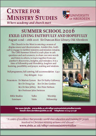 Exile Summer School